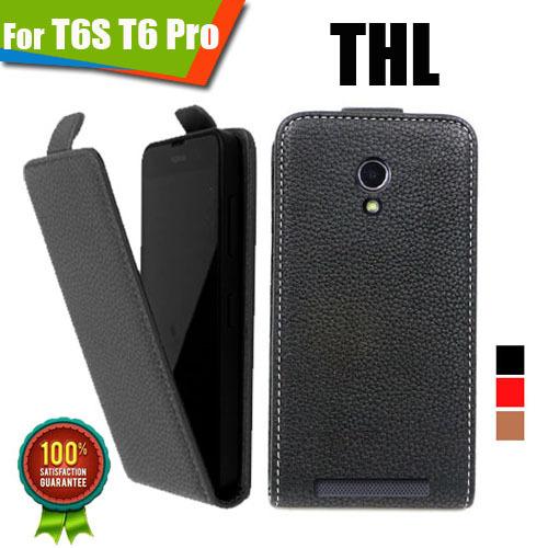 Чехол для для мобильных телефонов New 100% PU THL T6S T6 Pro, For THL T6S T6 Pro thl 4400 в калининграде