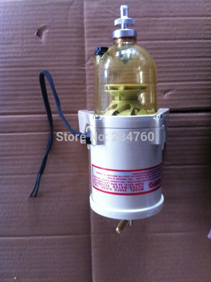 valtra tractors RACOR PARKER Turbine 500FG Fuel water separator filter heating diesel engine MARINE MAN scania truck 2010PM(China (Mainland))