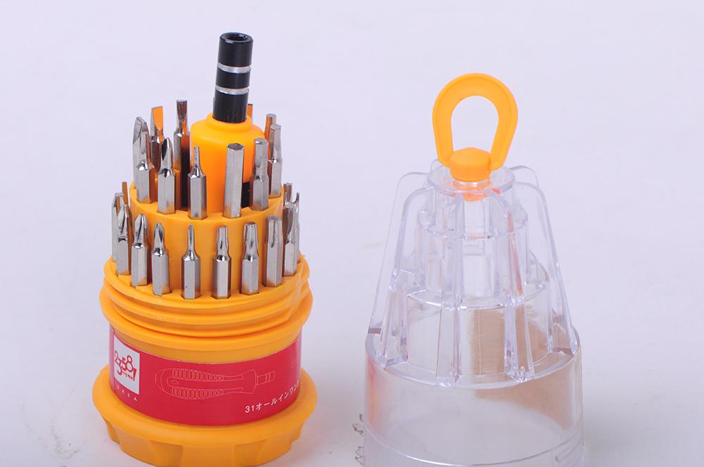 31 in 1 set Micro Pocket Precision Screwdriver Kit Magnetic Screwdriver set cell phone tools repair box PC computer tool(China (Mainland))