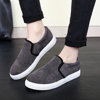 2015 New Fashion Leopard Round Flat Casual Ayakkabi Shoes Nubuck Leather Running Women Loafers SP0028