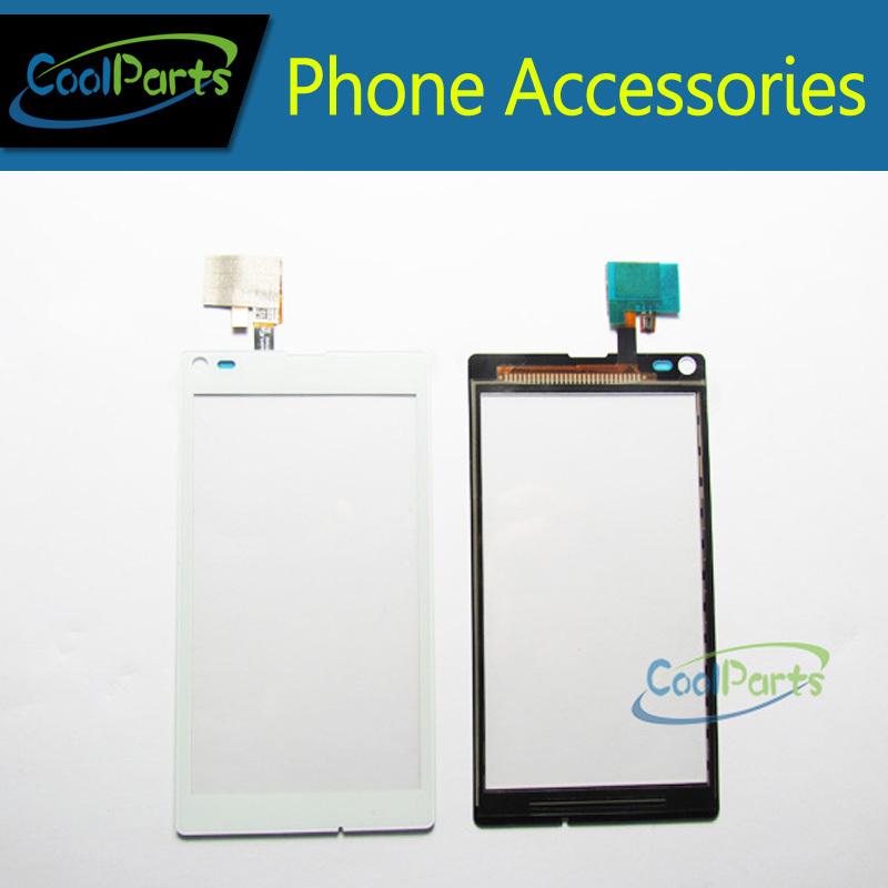 Смартфон Ремонт Стеклянный Объектив Для Sony Xperia L S36h C2104 C2105 Сенсорным Экраном Дигитайзер Бесплатная Доставка 1 Шт./лот. смартфон sony xperia xa1 ultra dual
