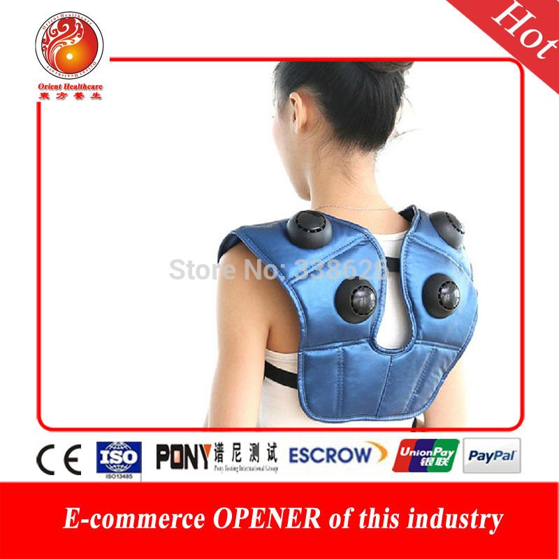 2015 new design hot popular neck and shoulder massager Headache Relax Cervical Neck Device Shoulder best gift for parents(China (Mainland))