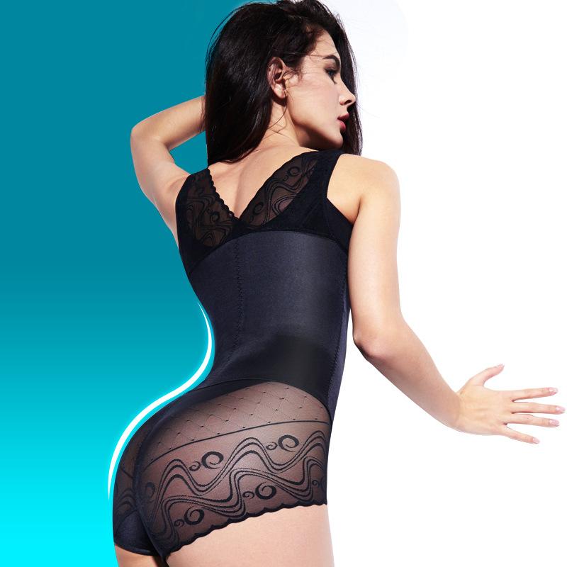 New Women tummy trimmer corset slimming body shaper waist training corsets body magic spandex bodysuit waist trimmer(China (Mainland))