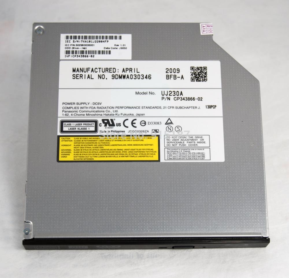 Free Shipping NEW Origina laptop internal bluray drive UJ-230 SATA Tray Load Blu ray Burner optical drive(China (Mainland))