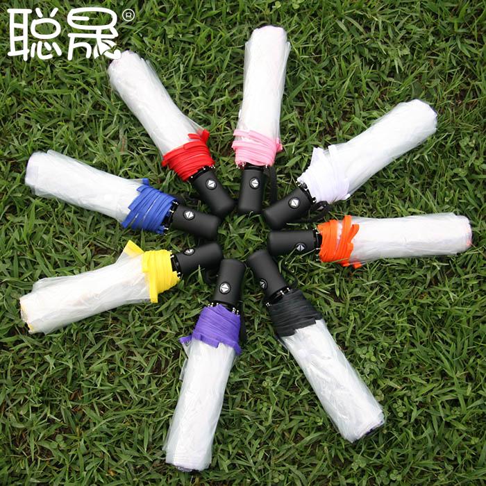 Y55 бренд 8 цвета прозрачный зонтик для женщин женский дешевые автоматический складной зонтики дождь китайский прозрачный зонтик