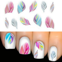 2015 New beautiful women's Feature Nail Art Water Transfer Decal Sticker Nail Art tip decoration free shipping