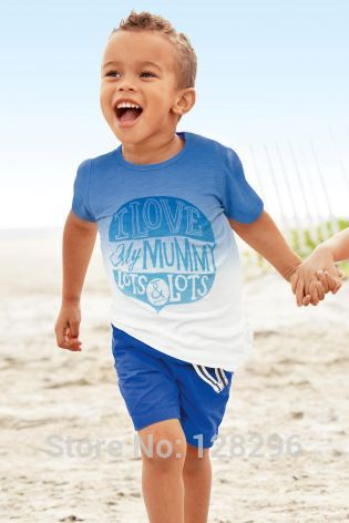Hot sale children clothing set boy casual clothes suit(t-shirt+shorts)summer kid garment retail(China (Mainland))