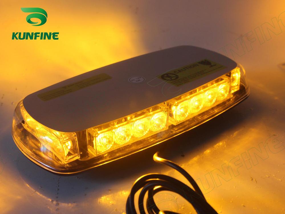 Amber Emergency High Power Car Emergency flash Warning light Beacon Lamp Strobe Lights Flashing modes with Magnetic Base(China (Mainland))