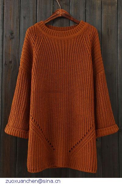 winter autumn roupas femininas Plain Pattern Women In Long woman pullovers for women a sweater LC27563 dear-lover(China (Mainland))