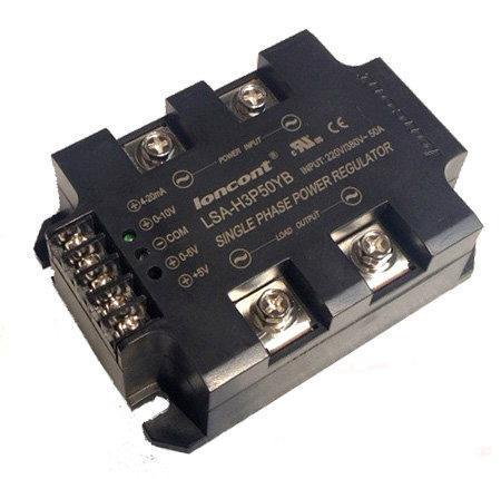 Full isolation Single-phase AC voltage regulator module 40A, Power regulator 220V / 380V can work in 180V-430V AC LSA-H3P40YB(China (Mainland))