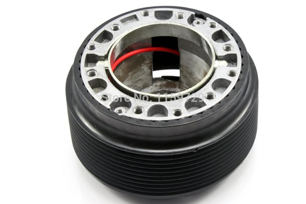 Car Steering Wheel Quick Release Hub Adapter Snap Off Boss kit Black(China (Mainland))