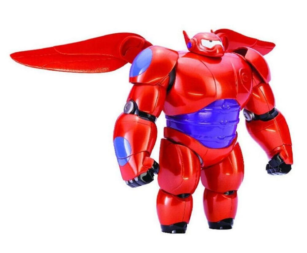 New Big Hero 6 Baymax Robot Action Figure Cartoon Movie Armor Baymax Action & Toy Figures 86950(China (Mainland))