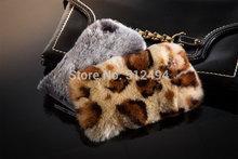 100 Geniue rex rabbit fur case for iphone 6 4 7 6 Plus luxuxy new covers