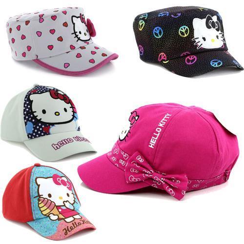 2-6Yrs 6 Styles Children Cartoon Baseball Caps Cotton kids boys & girls Summer Spring hats(China (Mainland))