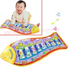 New Fish Animal Mat Touch Kick Play Fun Piano Music Toys For Kid Baby Child Gift(China (Mainland))