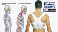 Large Adjustable Power Back Support Correction Belt Posture Magnetic Shoulder