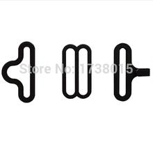 100 компл. галстук-бабочку аппаратные комплект галстук крюк с бантом галстук или галстук клипы крепеж , чтобы сделать регулируемые ремни на с бантом галстуки / галстуки