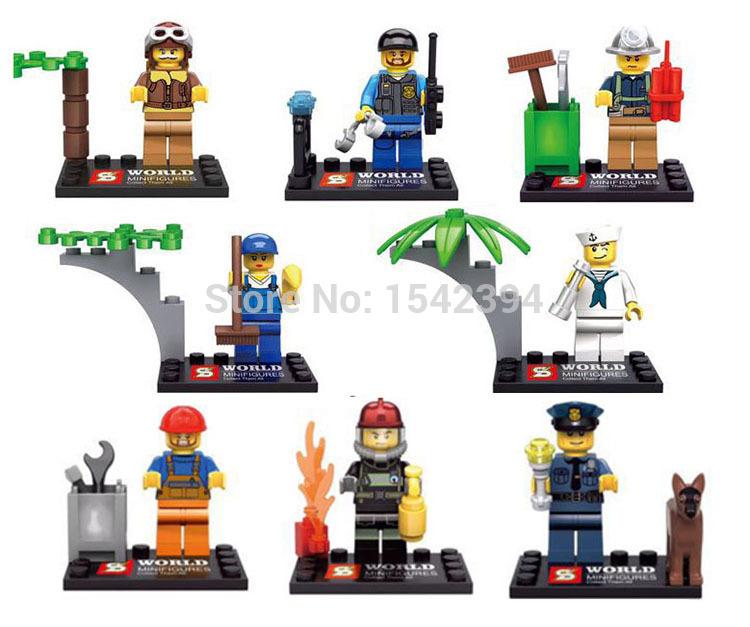 Детское лего Minifigures SY263 детское лего elephant minifigures 16 diy jx1001 1002