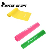 Set of 3 1.5m Strengthen muscles training resistance bands fitness power exercise for wholesale and free shipping kylin sport