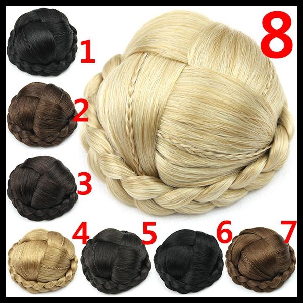 Braided Hair Bun Piece 70g Select Braid Hair Bun