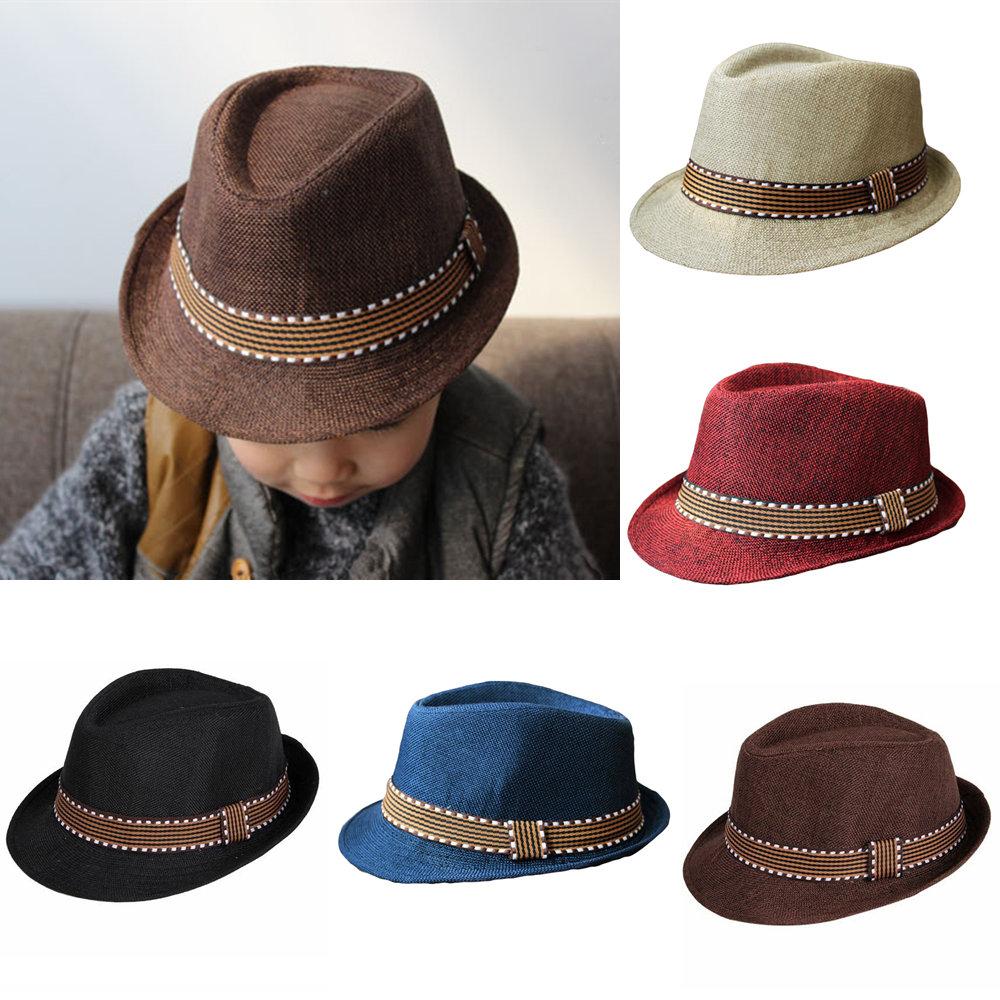 Шапка для мальчиков BRAND NEW Fedora Fedora Hat женская фетровая шляпа brand new 2015 fedora cloche hat cap 6 bm890