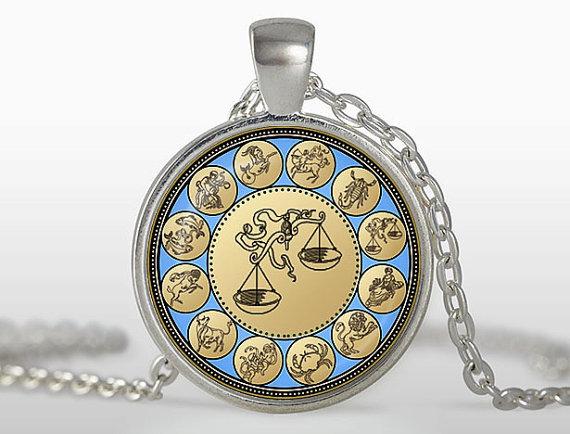 (3 pieces/lot) Vintage Libra pendant Zodiac Libra Necklace Astrology Horoscope Jewelry September October Birthday Gift Wholesale(China (Mainland))