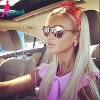 Free shipping 2015 woman's gagaopt  Fashion sunglasses