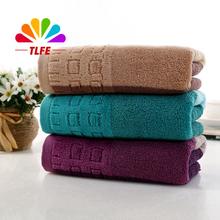 TLFE Home Textile 1pc 34 * 75cm 100% coton serviette de visage pour les adultes serviettes de plage doux séchage rapide pour le cadeau Home & Garden D0114(China (Mainland))