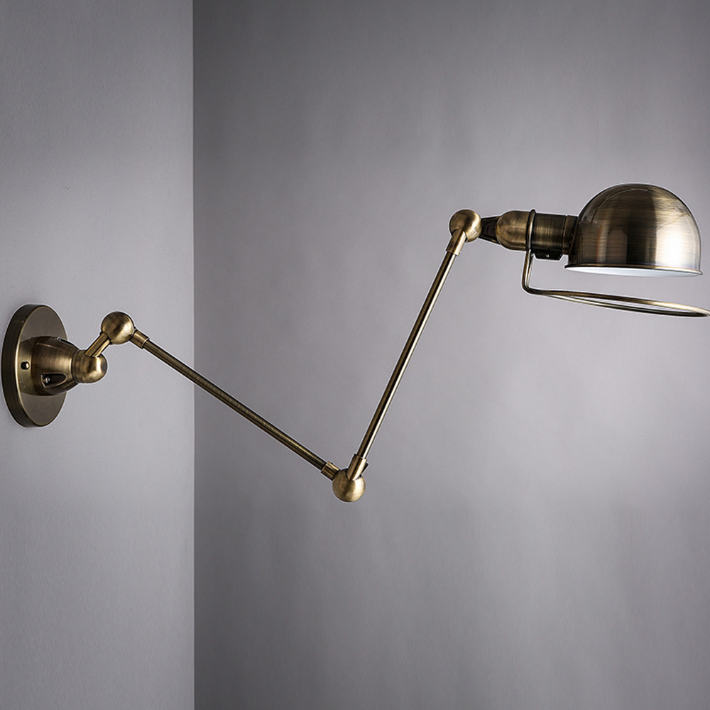 Wall Lights In Sheffield : Black-Bronze-Loft-Adjustable-Swing-Arm-Lights-Novelty-Vintage-Industrial-Bar-Cafe-Shore-Wall ...