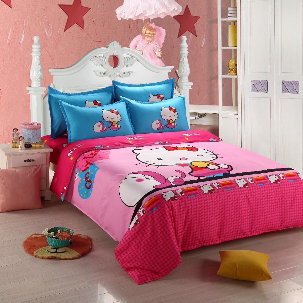 brand hello kitty bedding sets bed set duvet or quilt cover set
