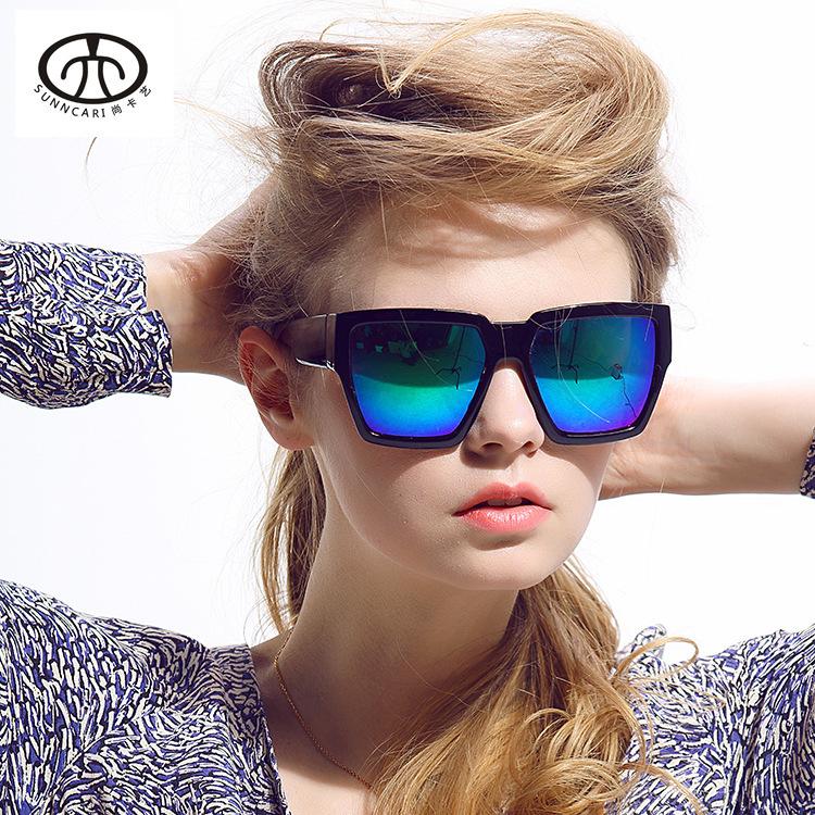 High Quality Polycarbonate Lens Coating Sunglasses Women Vintage Fashion Elegant UV400 Bright Fatigue Glasses(China (Mainland))