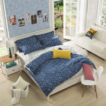 Starry new style kids bedding set with bed sheet duvet cover pillow case full twin queen