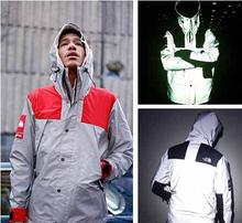 Mens windbreaker jacket 3M Flag refl
