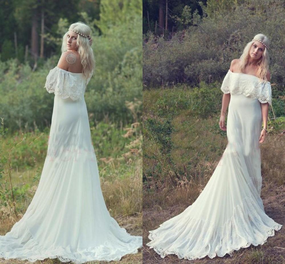 Vestidos de novia de Bohemia