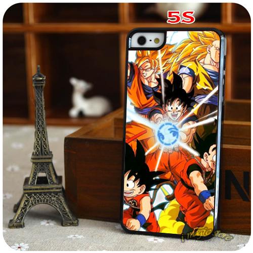 New Arrival Top Sale Dragon Ball Z Ball Anime Dragon Goku Saiyan Hard Back Cell Phone Case for Apple iPhone 4 4s 5 5s 5c 6 6Plus(China (Mainland))