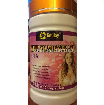Free shipping Natural Breast Enlargement Pill USA Traditional 100% NATURAL Pueraria Mirifica Capsules(China (Mainland))