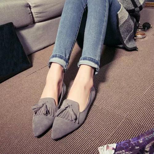Женская обувь на плоской подошве Zapatos Mujer Mocasines Sapatos Feminino XWC158 cyabmoz genuine leather wedges platform high heels thick bottom women shoes woman height increasing zapatos mujer tenis feminino