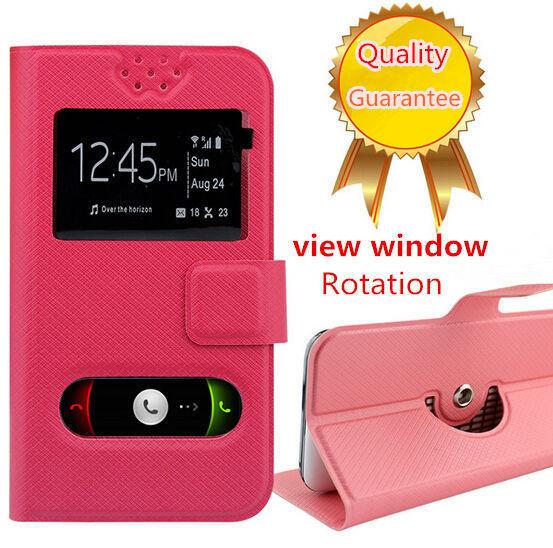 HotSell !!! 360 Degree Rotation ZTE Sonata 4G Case, Fashion Flip PU Leather Stand Universal Phone Cases for ZTE Sonata 4G Z740G(China (Mainland))