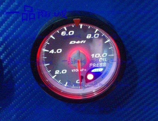 Defi CR avanço medidor Auto Oil Temp medidor branco ou Red Light 60 MM cara(China (Mainland))
