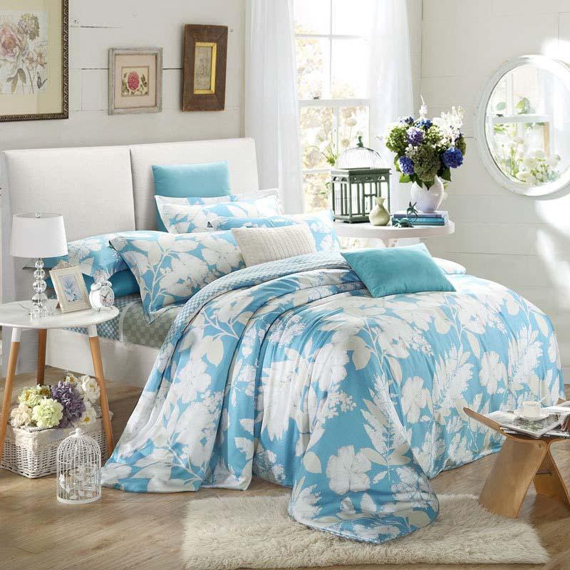 2015 new Luxury 100% Tencel tribute silk princess wedding four pieces bedding set bedclothes comforter/duvet cover set/3113(China (Mainland))