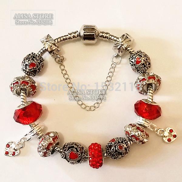 Glass Charm Bracelets Charm Bracelets Bangles