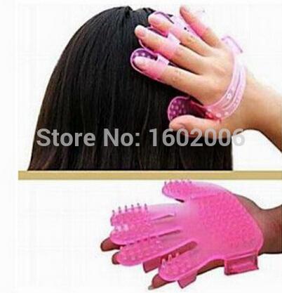 freeshipping! wholesaleNew Super Proffessional Head Hair Scalp Shampoo Brush Comb Massager Great 10pcs(China (Mainland))
