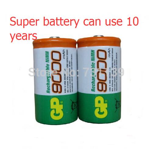 Аккумулятор 2015 0riginal 2 /gp 1.2V NiMh 9000 d recargables pilas gp9000 makita 18в 2 5ач nimh 1834 193102 0
