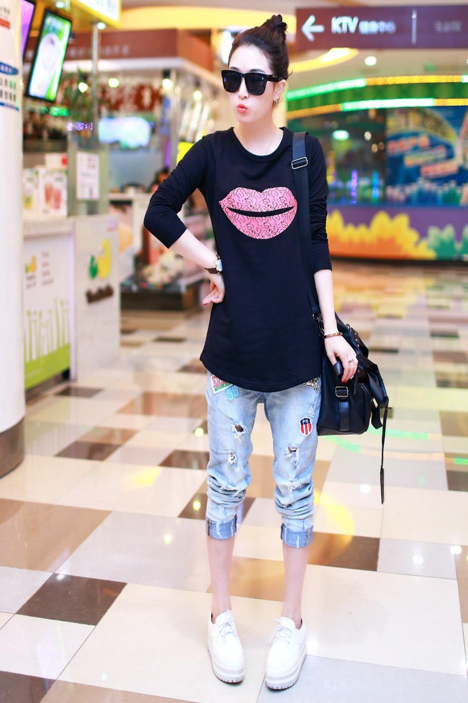 Женская футболка Ostia T lf/06 LF-06 mst726c lf