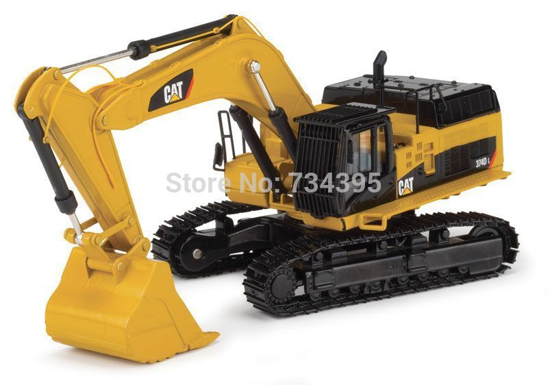 Norscot 1:50 scale Caterpillar Cat 374D L Hydraulic Excavator diecast collectible replica Metal Construction Tracks toy 55274(China (Mainland))