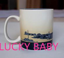 Classic mug Global City Cup Ceramic cup Coffee cup mug 16oz Cozumel