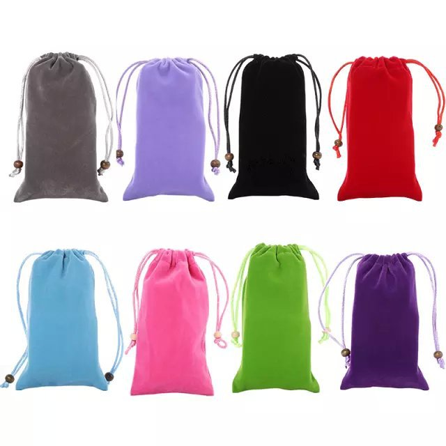 New Fashion 8 Colors Universal warm universal Velvet Soft Cloth Pouch Bag Cases For Amoi A955T A900T A900W Free Shipping(China (Mainland))