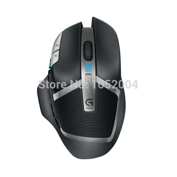 Original new Logitech G602 Wireless Gaming Mouse 2500dpi Logitech Wireless Gaming Mouse & Mice(China (Mainland))
