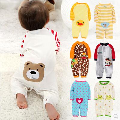 2015 новых детей пижамы детские комбинезон новорожденного ...