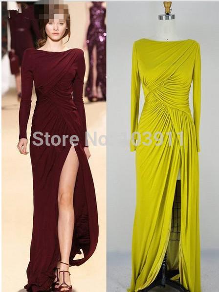 Вечернее платье Wanmei Elie Saab ae/30 27749 вечернее платье the covenant of sexy goddess 2015 elie saab vestidos evening dresses